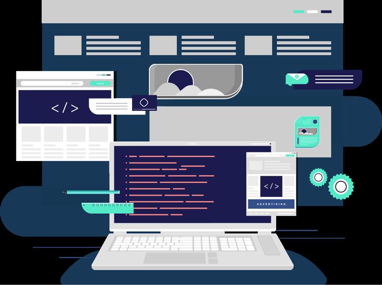 Web Design Development Icons